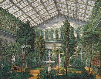 Hau. Interiors of the Small Hermitage. The Winter Garden. 1865.jpg
