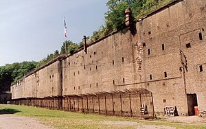 Fortified Region of Metz - Fort de Guentrange, one of the German Moselstellung incorporated into the RF Metz