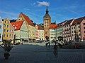 Hauptplatz mit Schmalzturm Landsberg am Lech.jpg