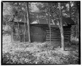 Hay barn, east elevation - Trump-Lilly Farm, Hinton, Summers County, WV HABS WVA,45-HINT.V,1-45.tif