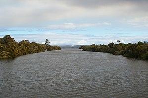 Hay River (Western Australia) - Hay River flowing into Wilson Inlet