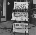 Hayward, California. As Bataan fell, as recorded in these newspapers of April 9, 1942, evacuation o . . . - NARA - 536016.tif