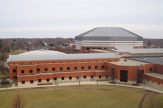 John E. Worthen - Health and Physical Activity Building with Worthen Arena, BSU
