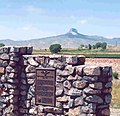 Heart mountain marker with mountain behind.jpg