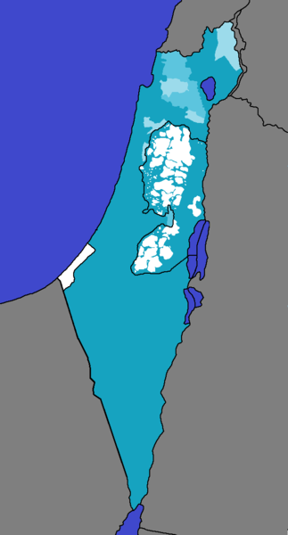 File:Hebrew Language in the State of Israel and Area A, B and C.png