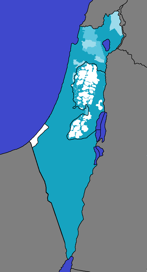 Hebrew Language in the State of Israel and Area A, B and C