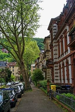 Kaiserstraße in Heidelberg