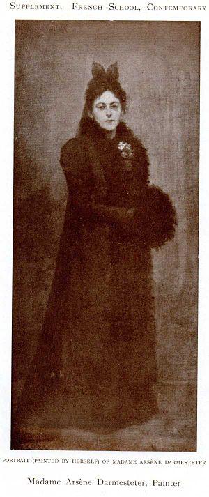 Héléna Arsène Darmesteter - Self-portrait