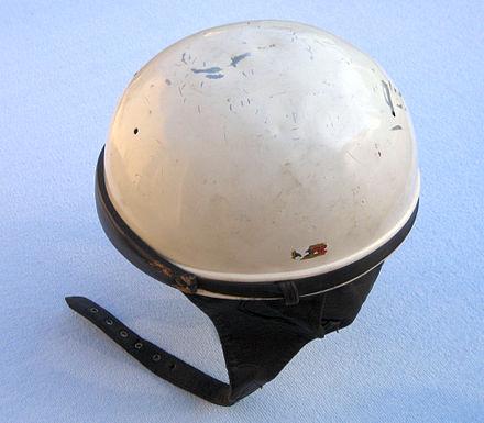 1960年代のハーフヘルメットまたは「プリンベイスンヘルメット」