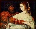 Hemessen, Jan Sanders van - Tarquin et Lucretia.jpg