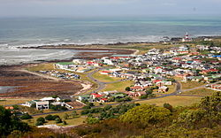 View over L'Agulhas