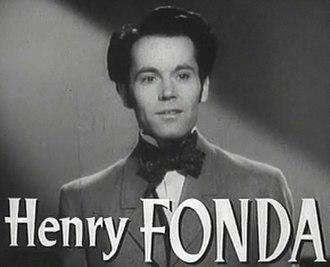 Henry Fonda - Fonda in Jezebel
