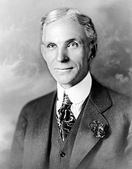 portret Henry Ford 1919