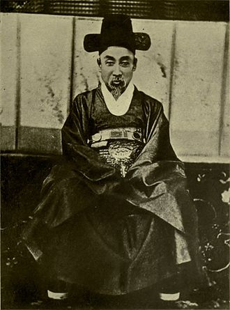 French campaign against Korea - The regent Heungseon Daewongun.