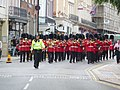 High Street and the Band of the Scots Guards - geograph.org.uk - 1514534.jpg