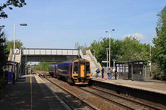 Burnham-on-Sea - Highbridge & Burnham station on the Bristol to Exeter Line.