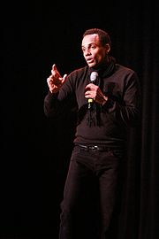 Hill Harper speaks at the Missouri Theatre.JPG