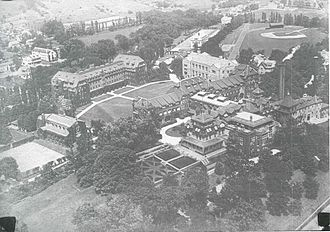 The Hill School - Image: Hill school old aerial