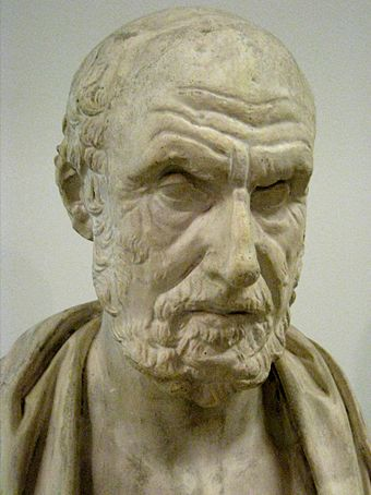 Hippocrates lived in about 400 BC, and Galen and the understanding of nutrition followed him for centuries. Hippocrates pushkin02.jpg