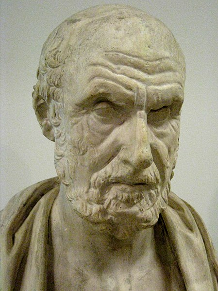 Bust Cast of Hippocrates