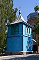Hirnyky Ratnivskyi Volynska-Bell tower of the church of Saint Demetrius-south west view.jpg