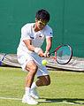 Hiroki Moriya 14, 2015 Wimbledon Qualifying - Diliff.jpg