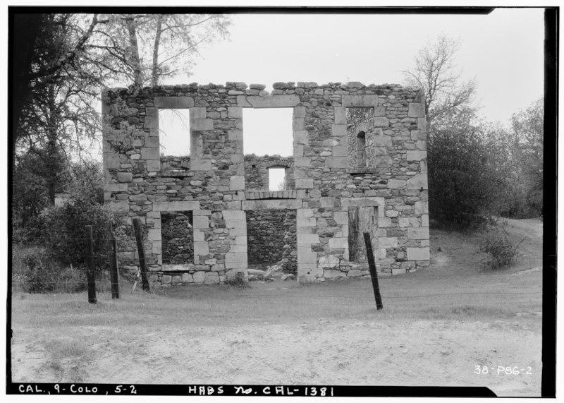File:Historic American Buildings Survey Roger Sturtevant, Photographer Mar. 26, 1934 WEST ELEVATION (FRONT) - Meyer's Dance Hall and Saloon, Shingle Spring Road, Coloma, El Dorado HABS CAL,9-COLO,6-2.tif