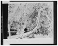 Historical photo of detail of siphon across mouth of Weber Canyon - Ogden Canyon Conduit, Ogden, Weber County, UT HAER UTAH,29-OGCA,2-26.tif