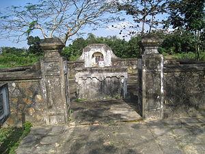 Hoàng Kế Viêm - Hoàng Kế Viêm Tomb in Trường Sơn Commune, Lệ Thủy District, Quảng Bình Province