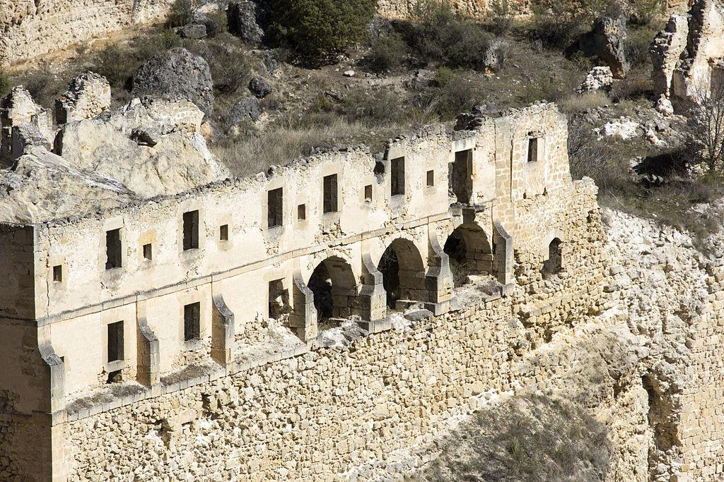 Hoces de río Duratón Monasterio de la Hoz 1.jpg