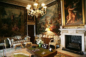 Art Collections Of Holkham Hall Wikipedia