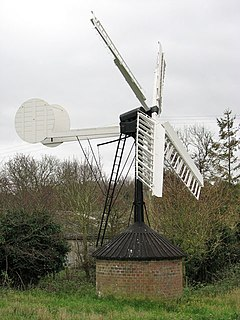 Starston Windpump grade II listed windmill in the United kingdom