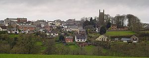 Holsworthy, Devon - Image: Holsworthy Town