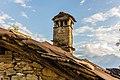 Homene Dessus, Combellin, Valle d'Aosta. Detail van oud huis 07.jpg