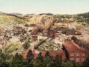 Homestake Mine (South Dakota) - Homestake Mine in 1900