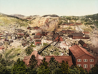 Homestake Mine (South Dakota) - Homestake Mine in 1900
