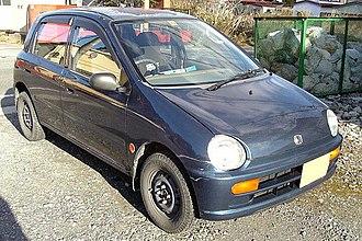 Honda Today - 1993 Honda Today 4-door series JA