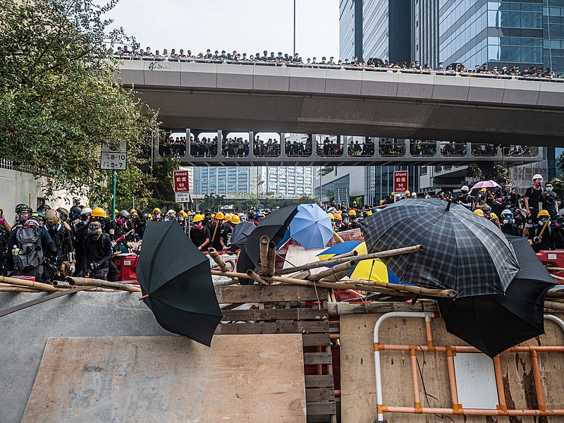 Hong Kong protests - Kwong Tong March 20190824 - P1066323.jpg