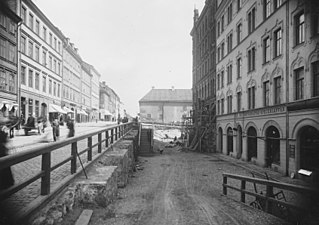 388fa89a355c Hornsgatan vid den gamla backen, senare