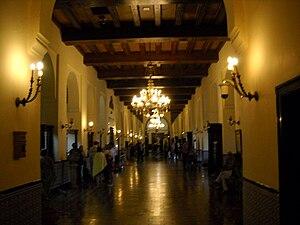 Lobby of the Hotel Nacional de Cuba in Havana