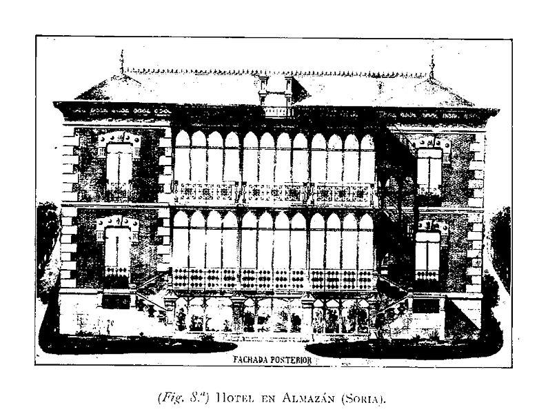 Archivo hotel en almaz n provincia de soria en la obra - Arquitectos en soria ...