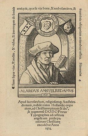 Alardus of Amsterdam - Alardus of Amsterdam, 1523