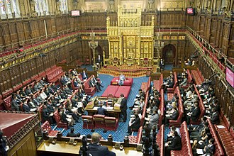 House of Lords - Image: House of Lords 2011