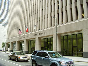 Houston Police Department - 1200 Travis, HPD headquarters in Downtown Houston