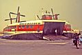 Hoverlloyd hovercraft on an English Channel beach, 1973.jpg