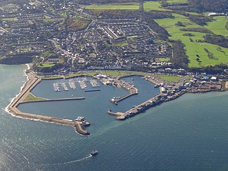 Howth - Aerial photo of Howth and harbour
