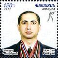 Hrachya Petikyan 2012 Armenia stamp.jpg