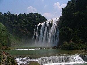 Huangguoshu Waterfall - Image: Huangguoshu dapubu