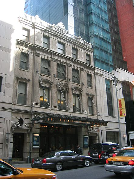 in 2003 Hudson Theatre NYC 2003.jpg