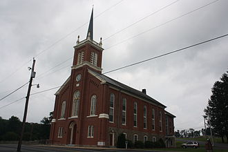 Hereford Township, Berks County, Pennsylvania - Huffs Church